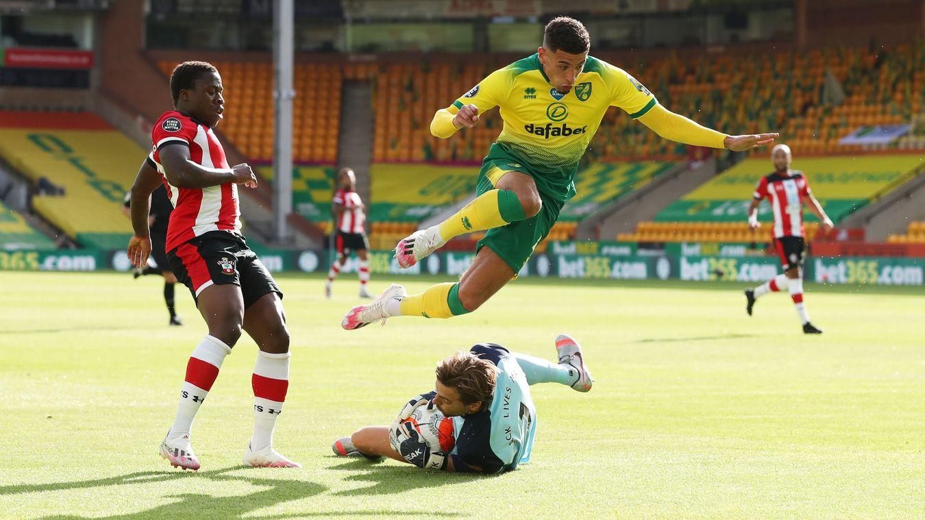 Norwich City 0-3 Southampton