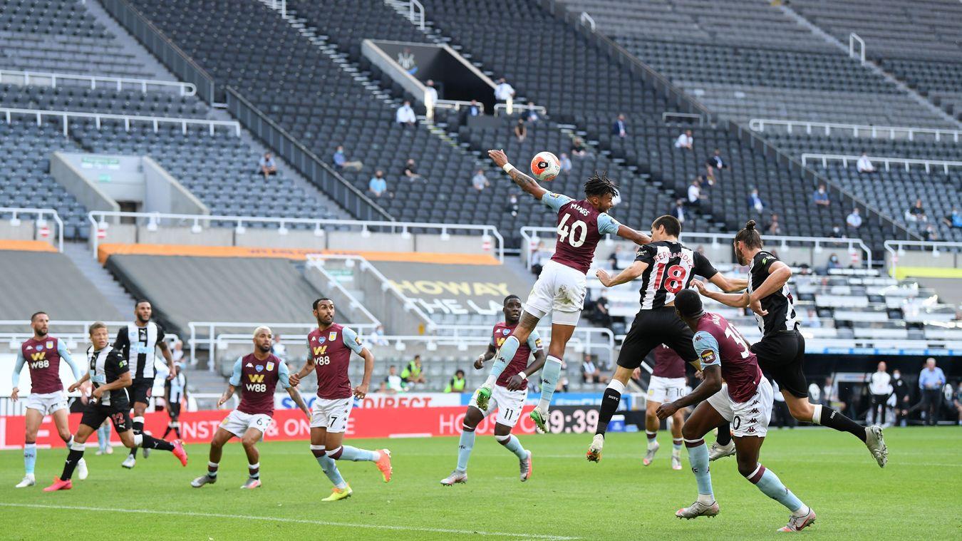 Newcastle United 1-1 Aston Villa