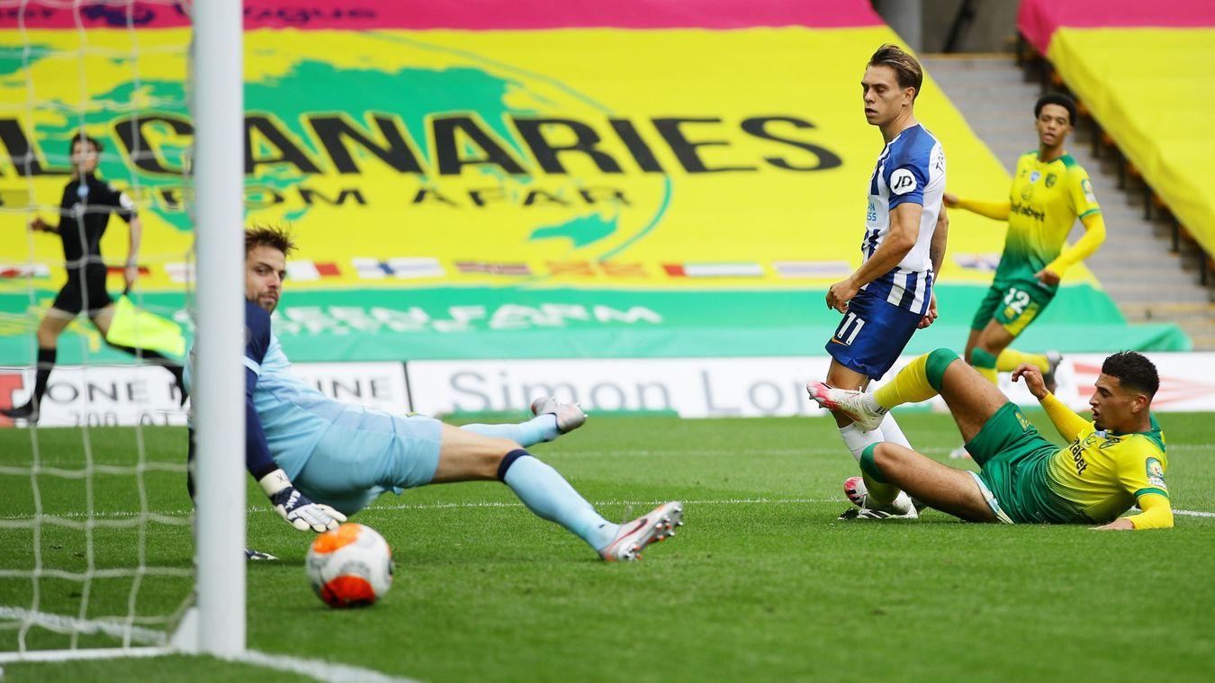 Norwich City 0-1 Brighton & Hove Albion