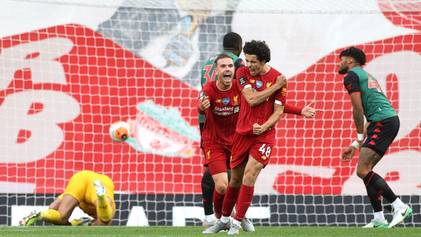 Liverpool 2-0 Aston Villa