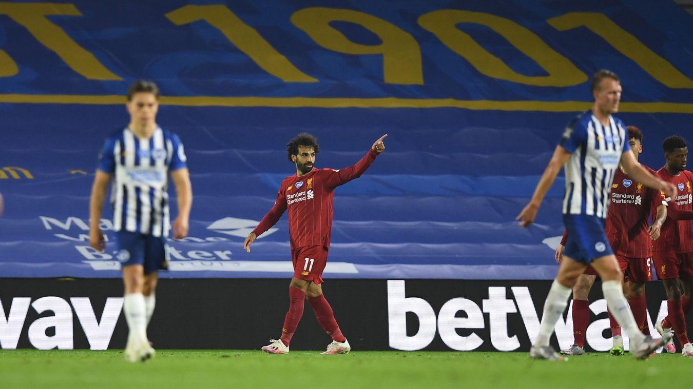 Brighton & Hove Albion 1-3 Liverpool