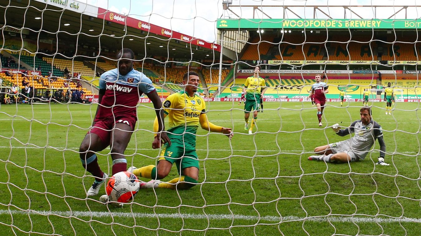 Norwich City 0-4 West Ham United
