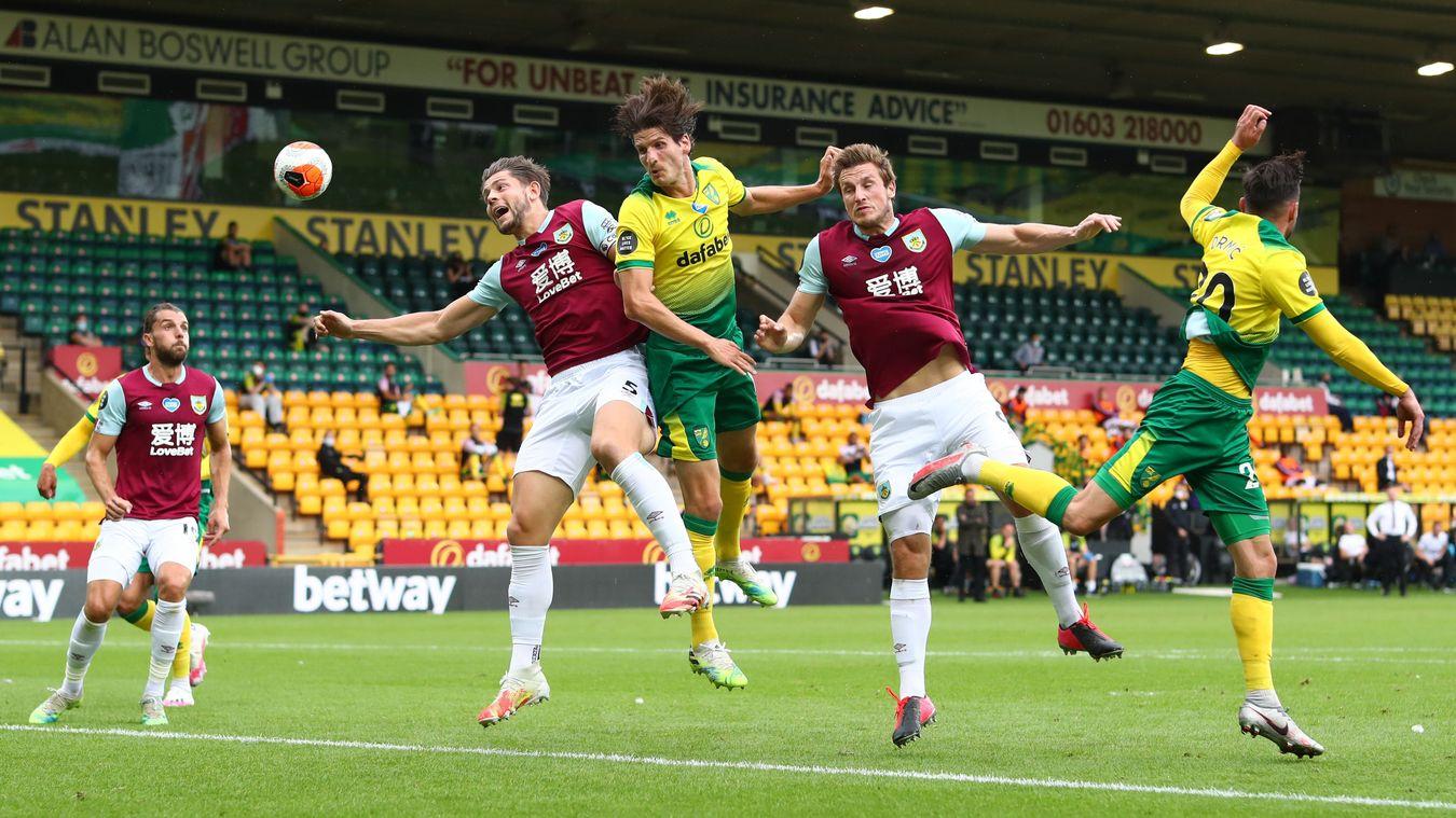Norwich City 0-2 Burnley