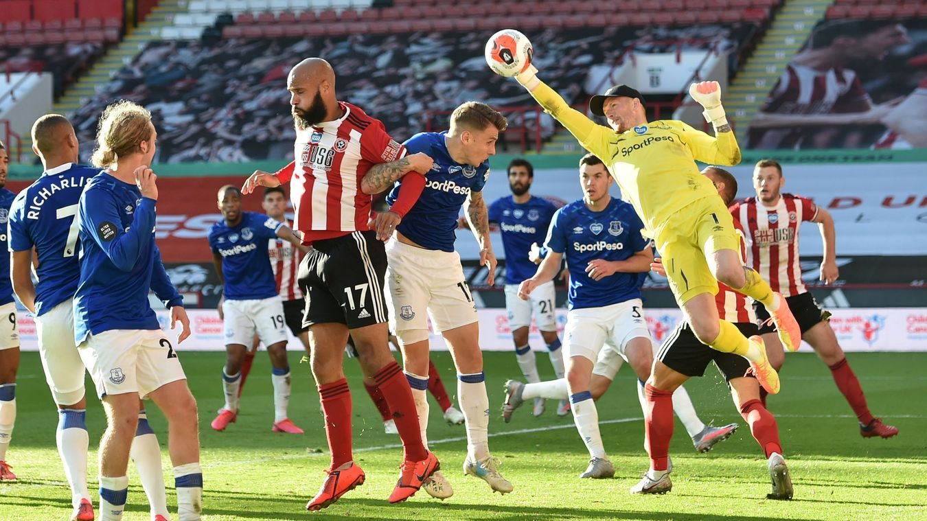 Sheffield United 0-1 Everton