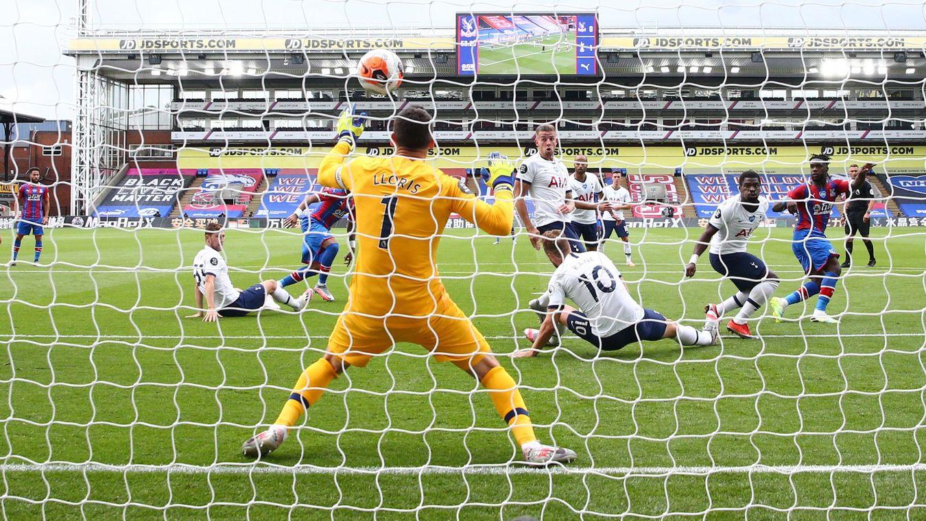 Crystal Palace 1-1 Tottenham Hotspur