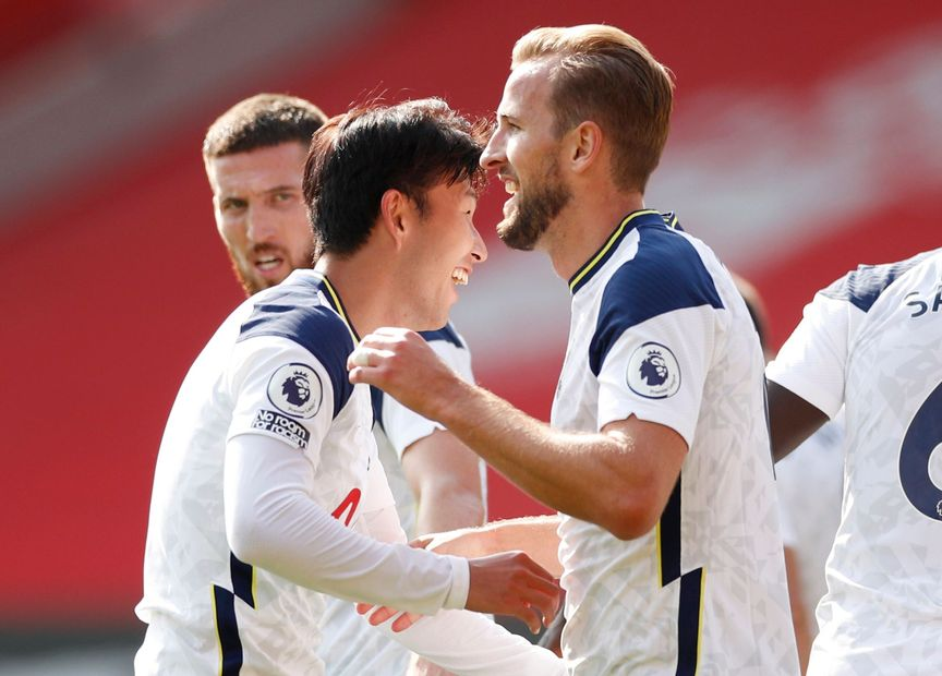 Spurs' Son Heung-min and Harry Kane