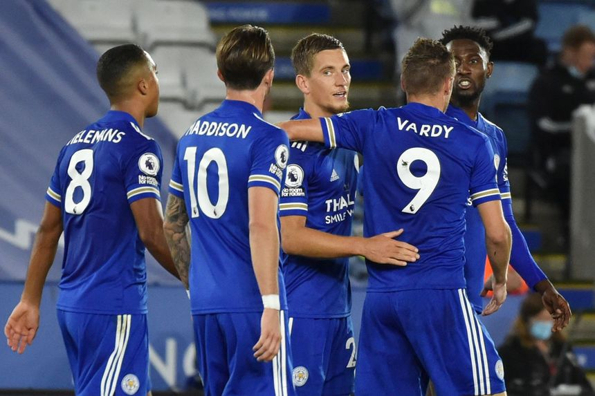 Leicester hit four past spirited Burnley