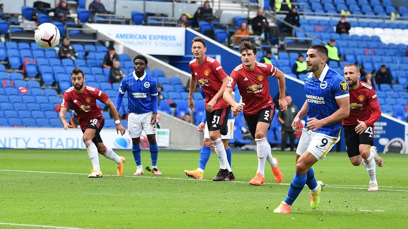 Brighton & Hove Albion 2-3 Manchester United