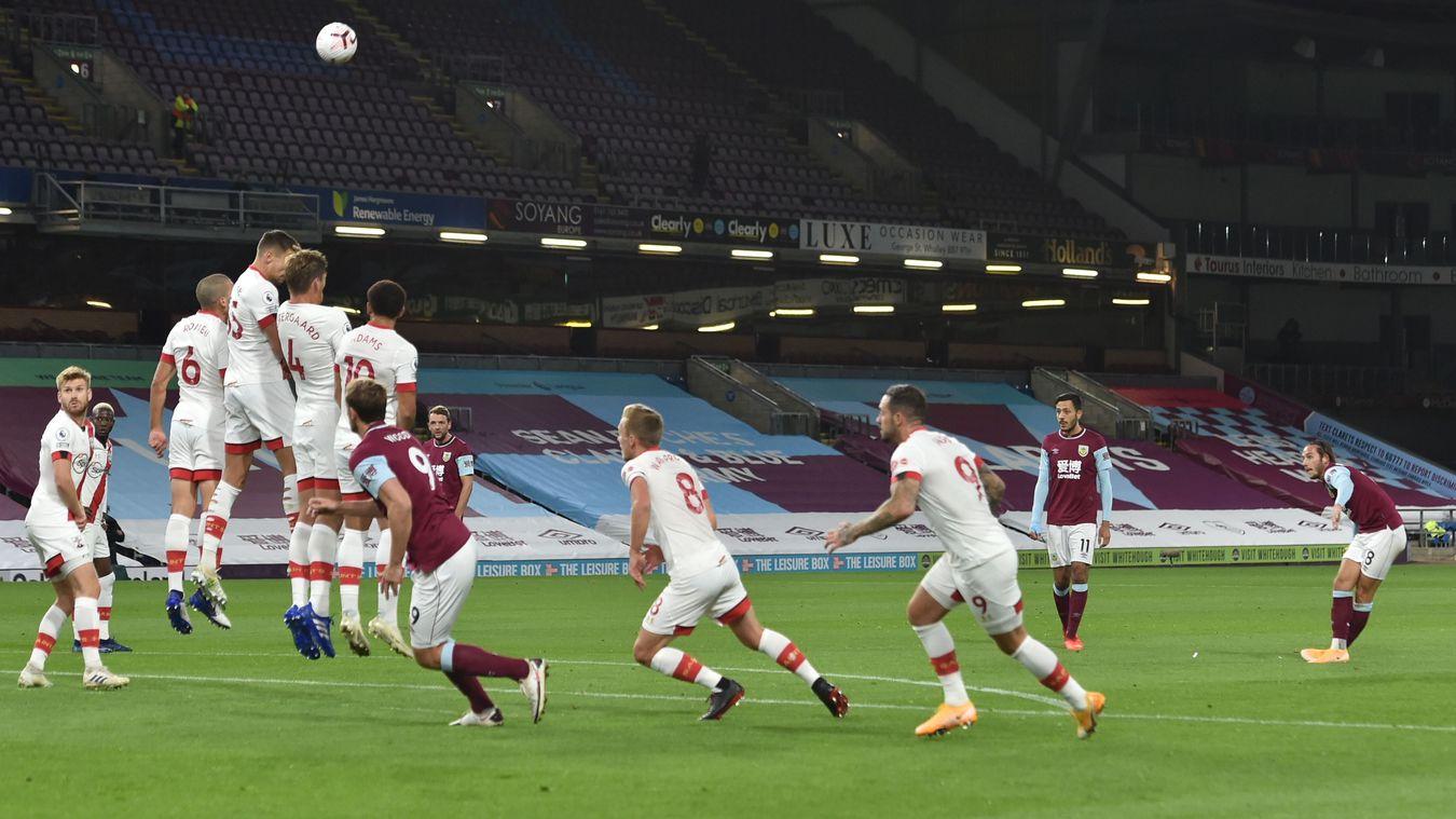 Burnley 0-1 Southampton