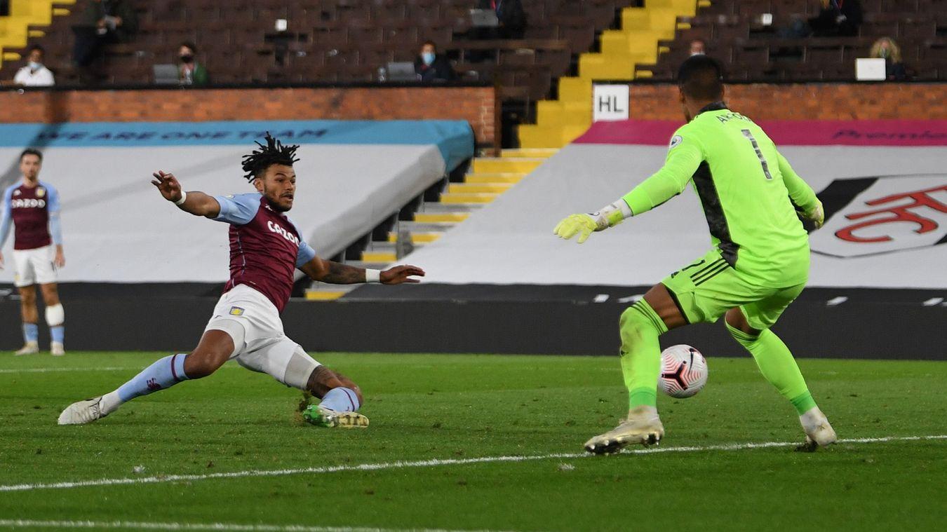 Fulham 0-3 Aston Villa