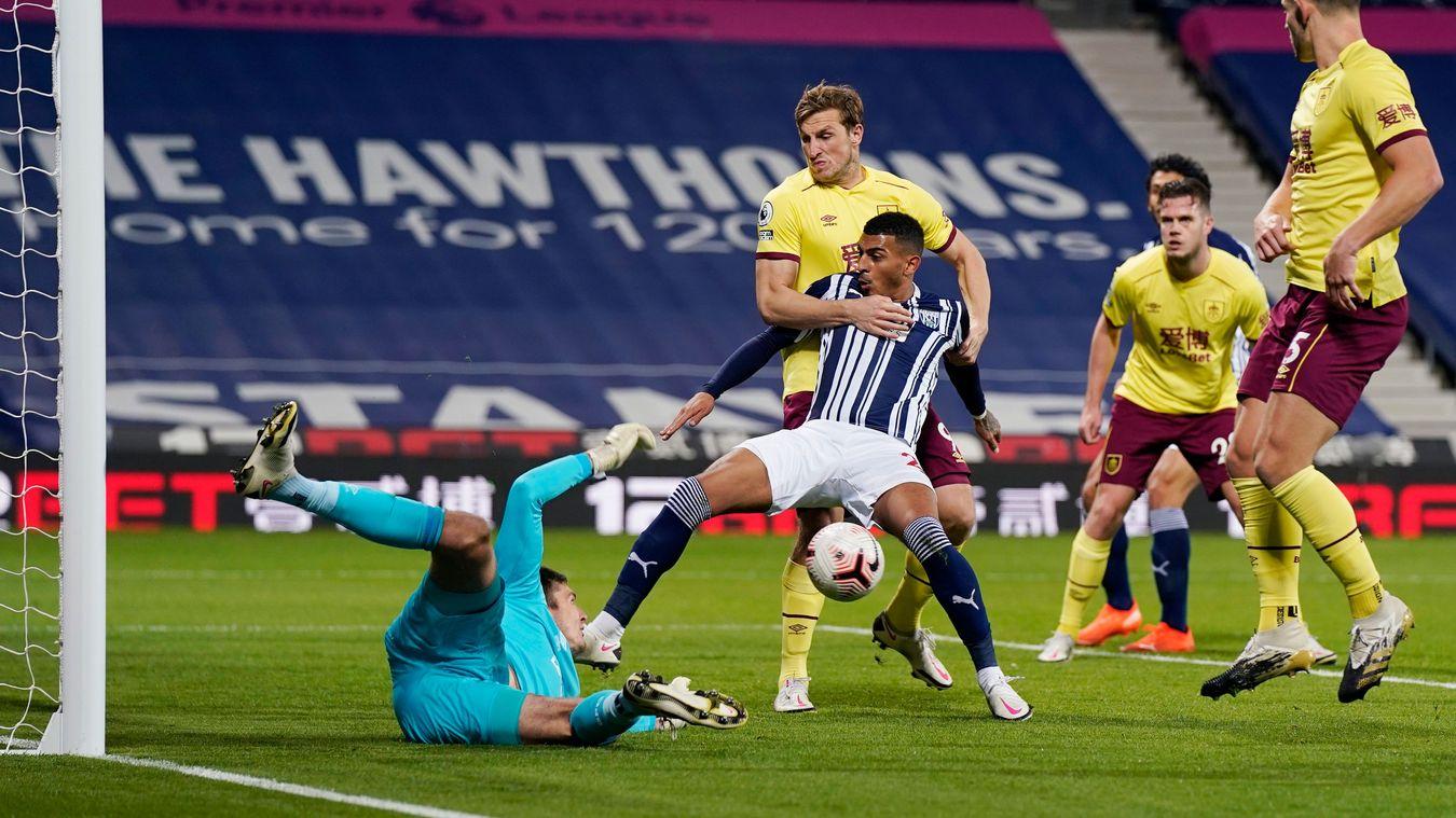 West Bromwich Albion 0-0 Burnley
