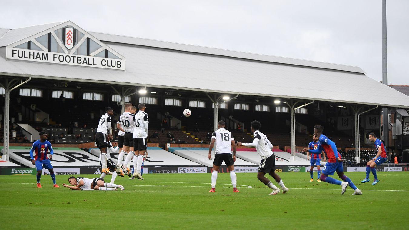 Fulham 1-2 Crystal Palace