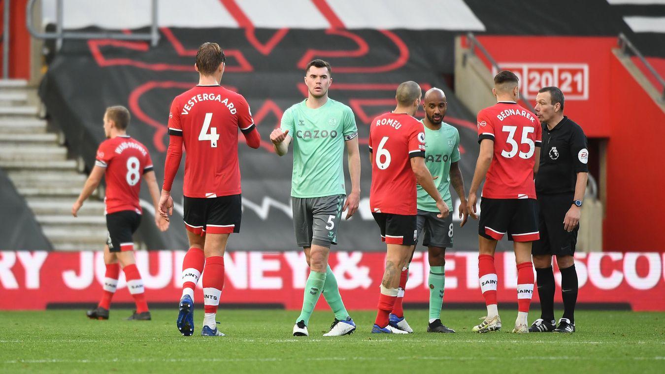 Southampton 2-0 Everton