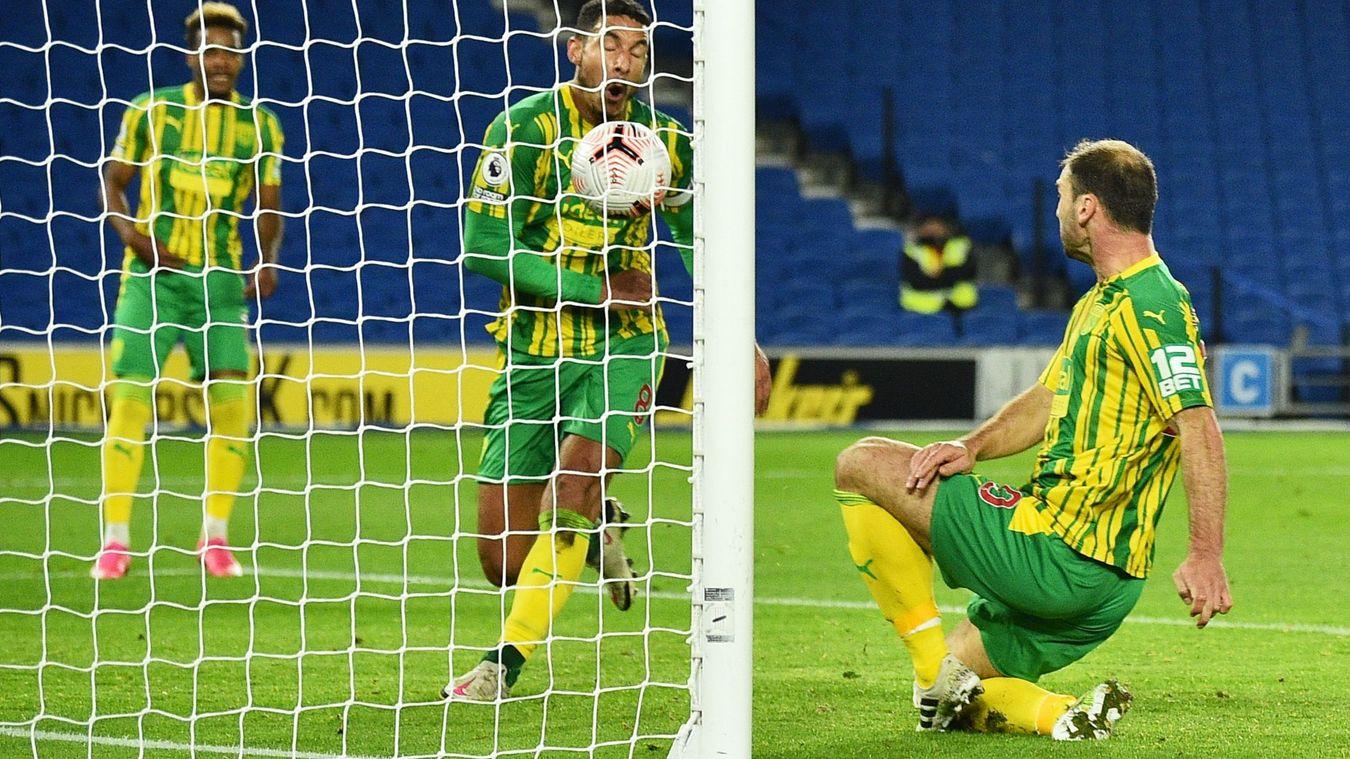 Brighton & Hove Albion 1-1 West Bromwich Albion