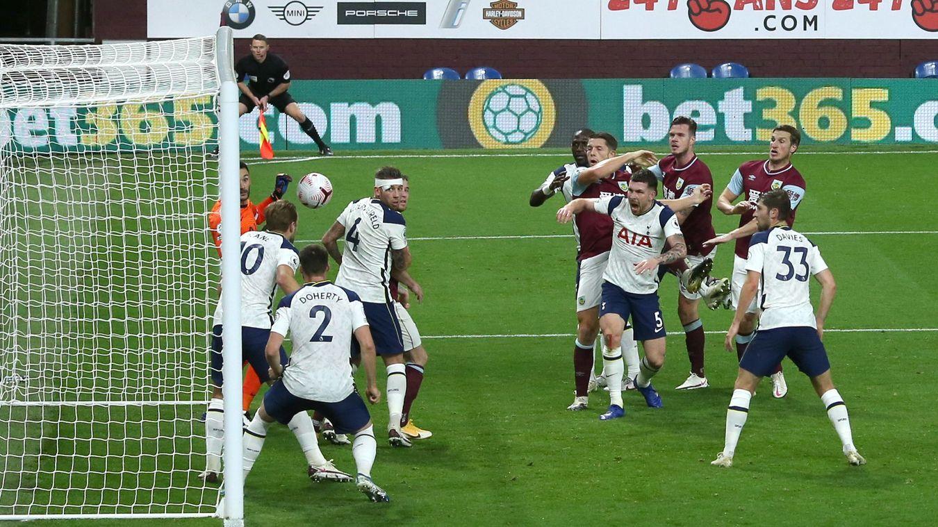 Burnley 0-1 Tottenham Hotspur