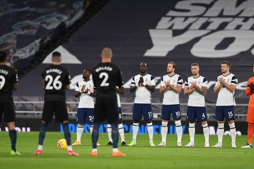 Spurs V Man City 2020 21 Premier League