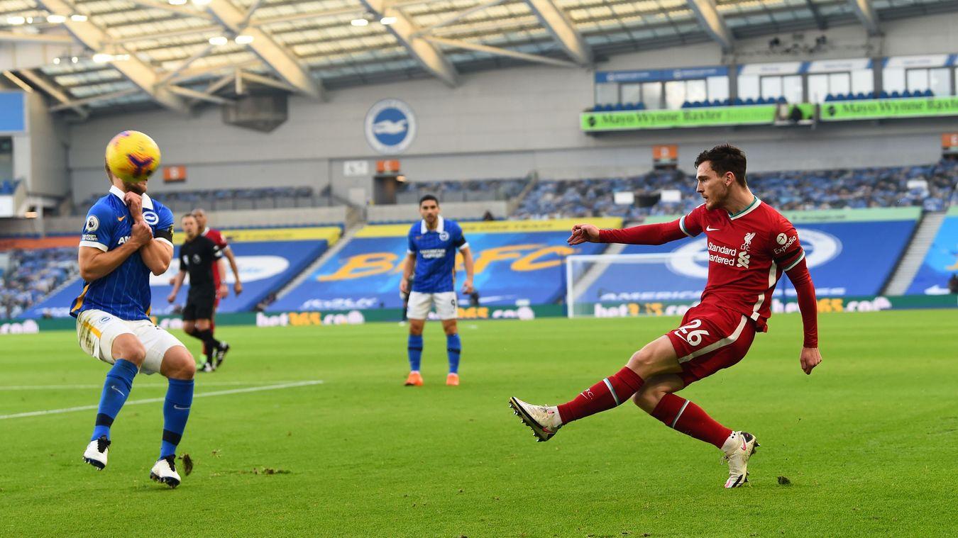 Brighton & Hove Albion 1-1 Liverpool