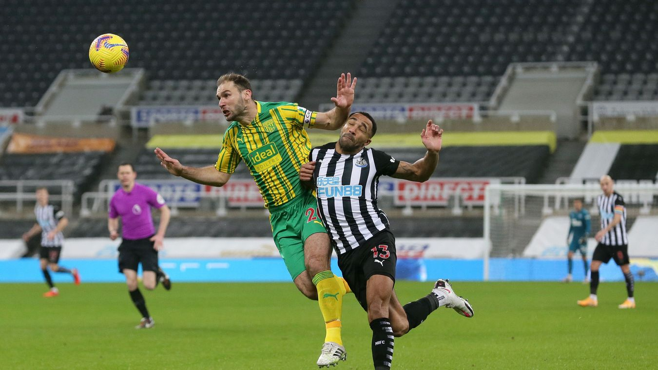 Newcastle United 2-1 West Bromwich Albion