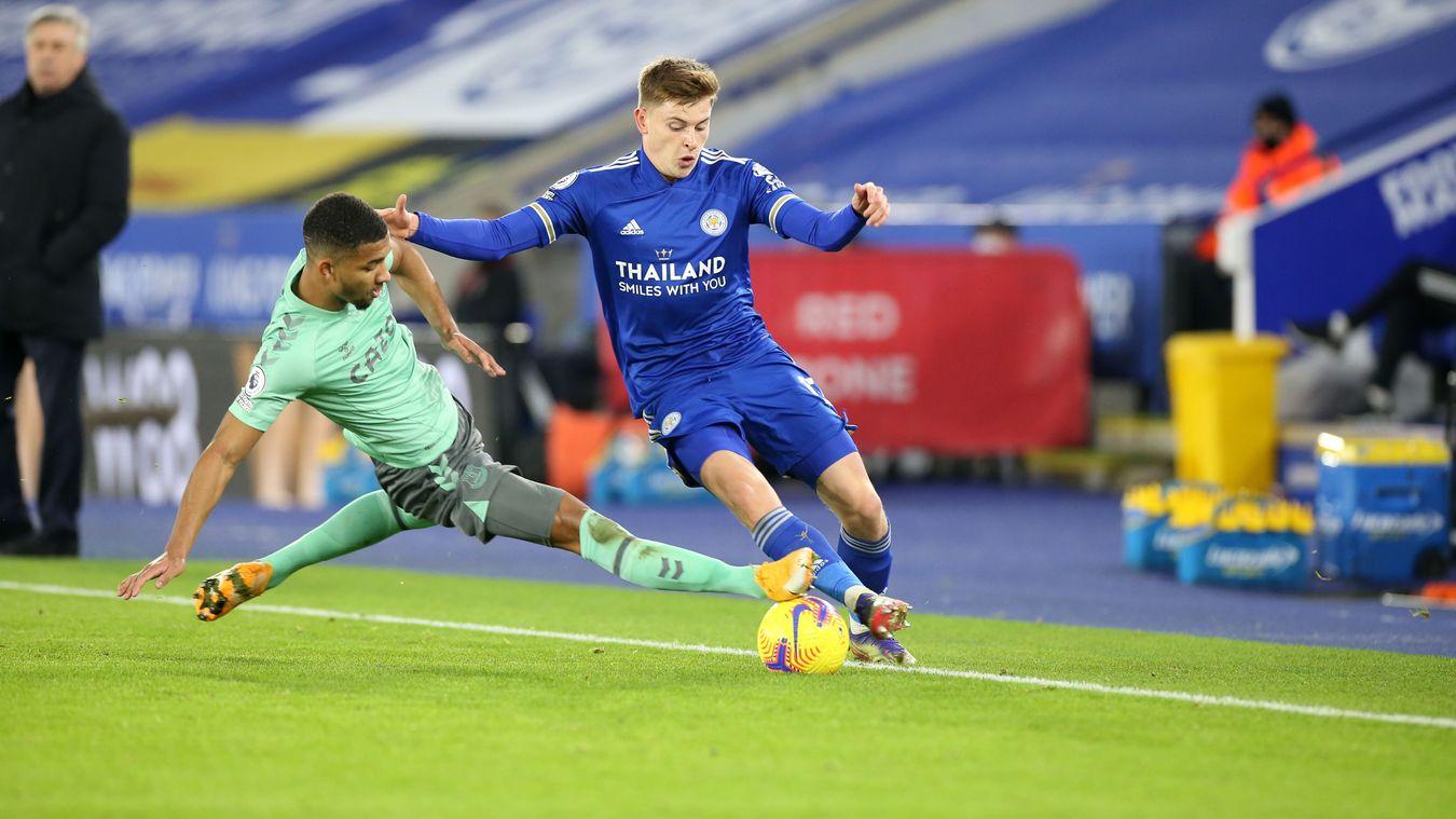 Leicester City 0-2 Everton
