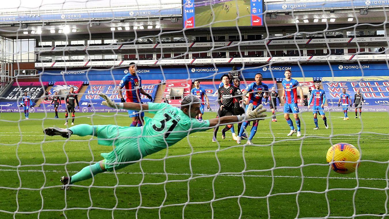 Crystal Palace 0-7 Liverpool