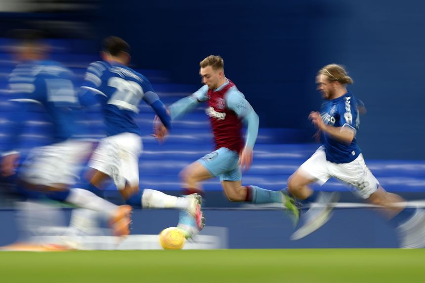 Everton 0-1 West Ham United