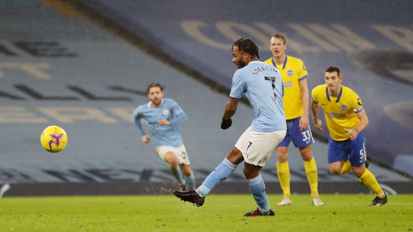 Man City 1-0 Brighton