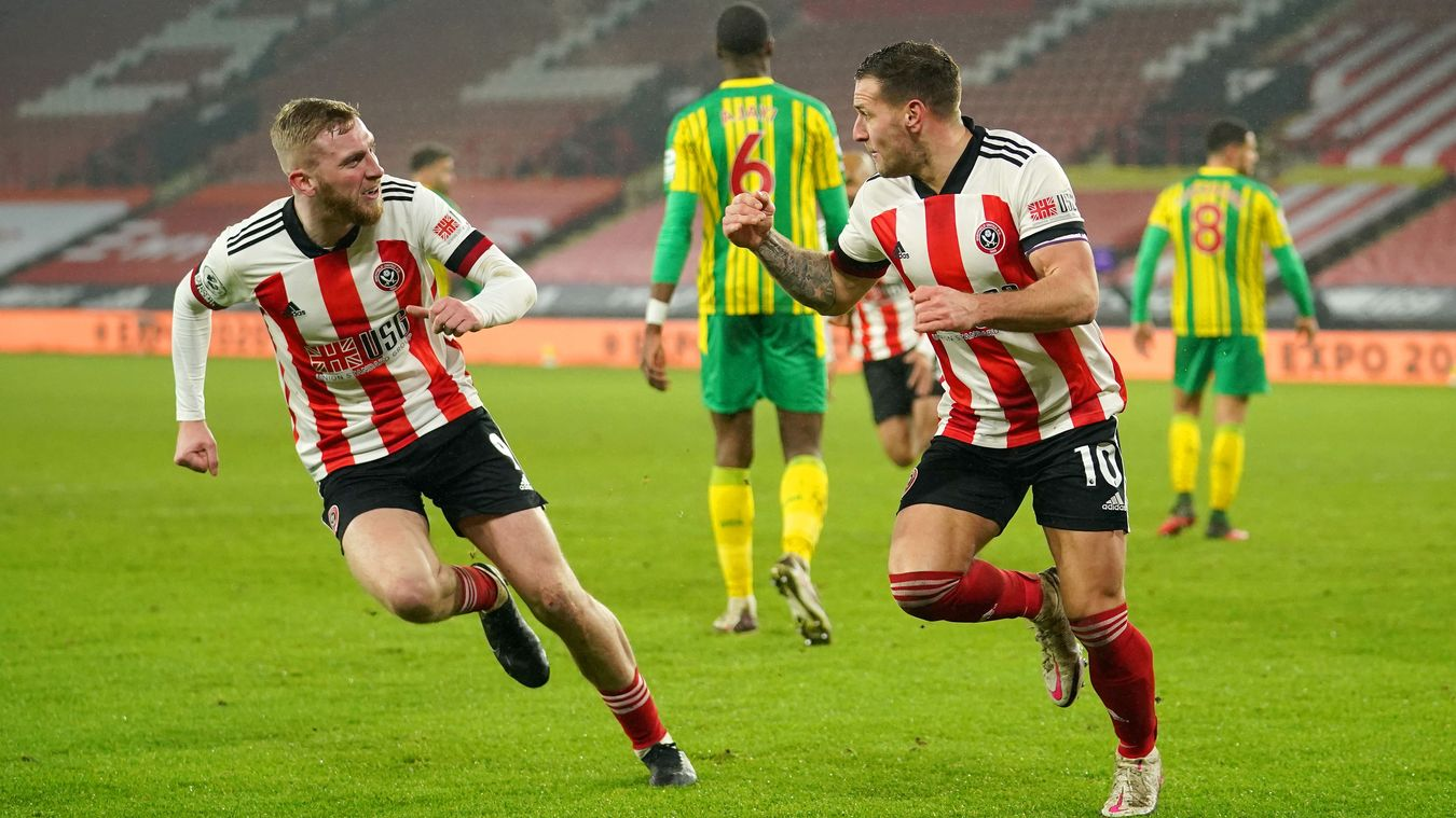 Sheffield United 2-1 West Bromwich Albion