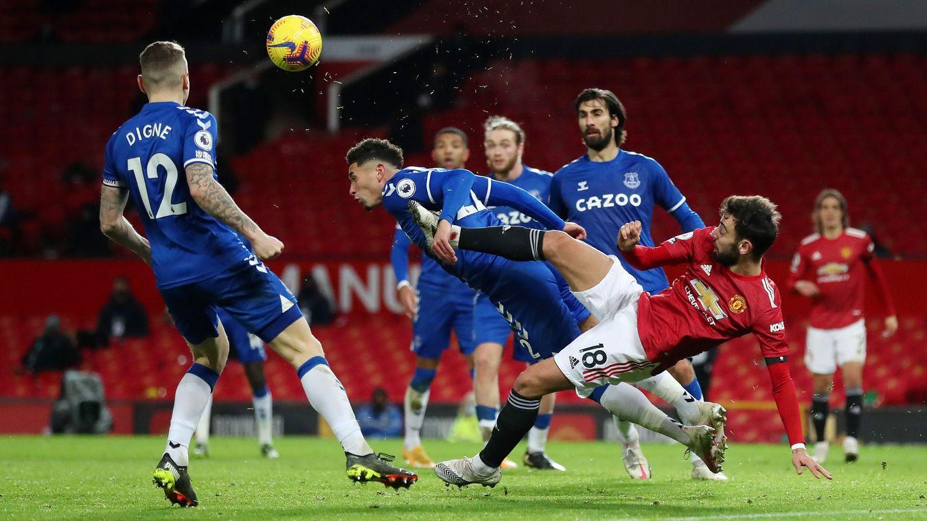Manchester United 3-3 Everton