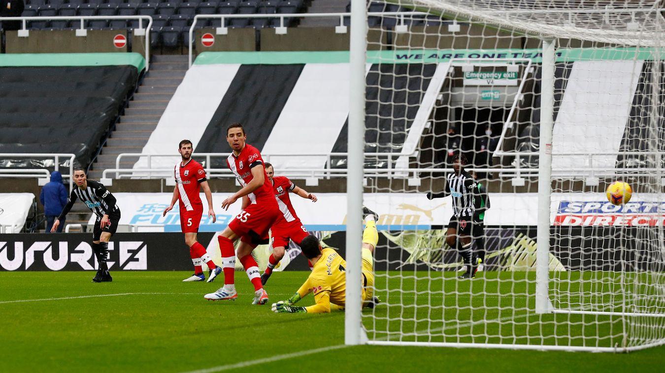 Newcastle United 3-2 Southampton