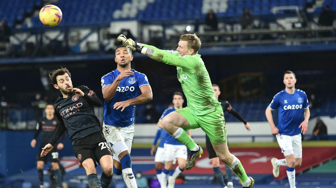 Everton 1-3 Manchester City