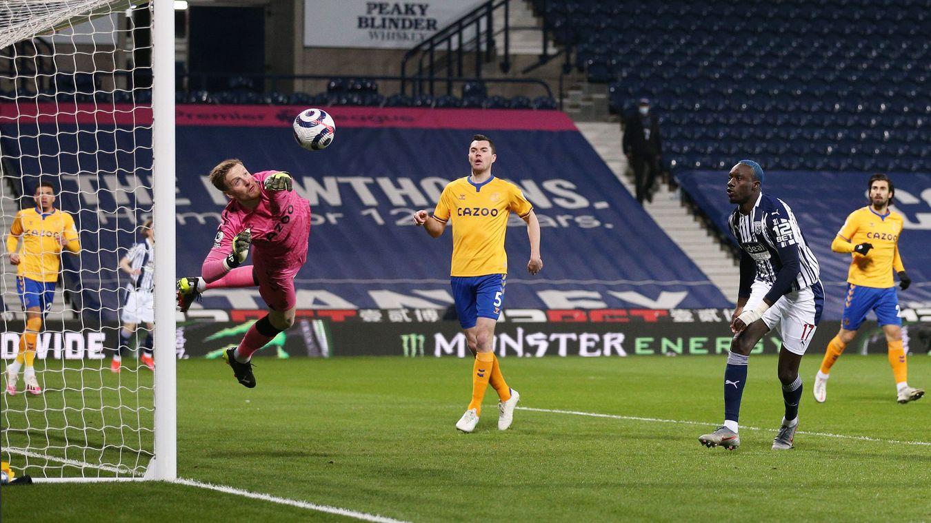 West Bromwich Albion 0-1 Everton