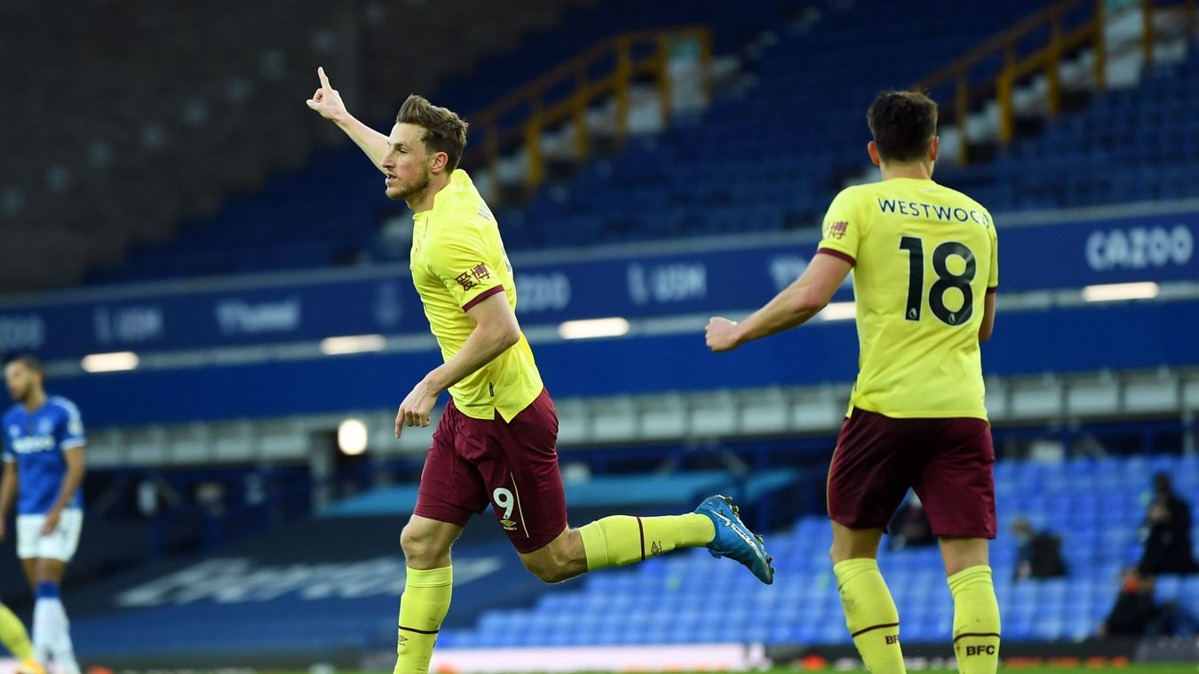 Everton 1-2 Burnley