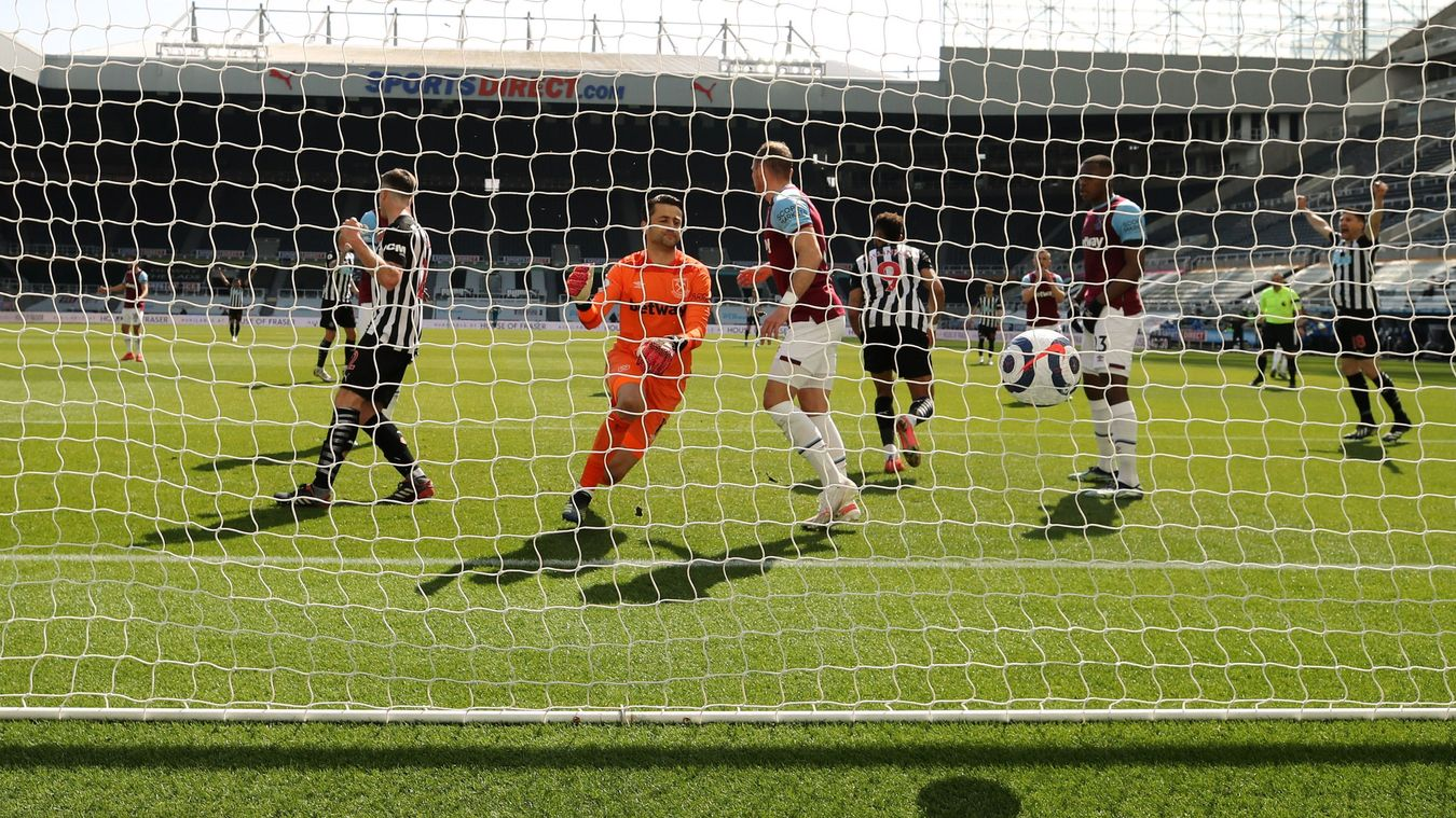 Newcastle United 3-2 West Ham United