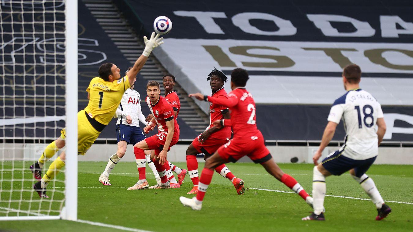 Tottenham Hotspur 2-1 Southampton