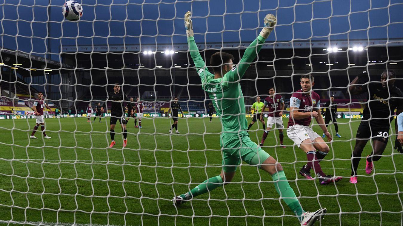 Burnley 1-2 West Ham United