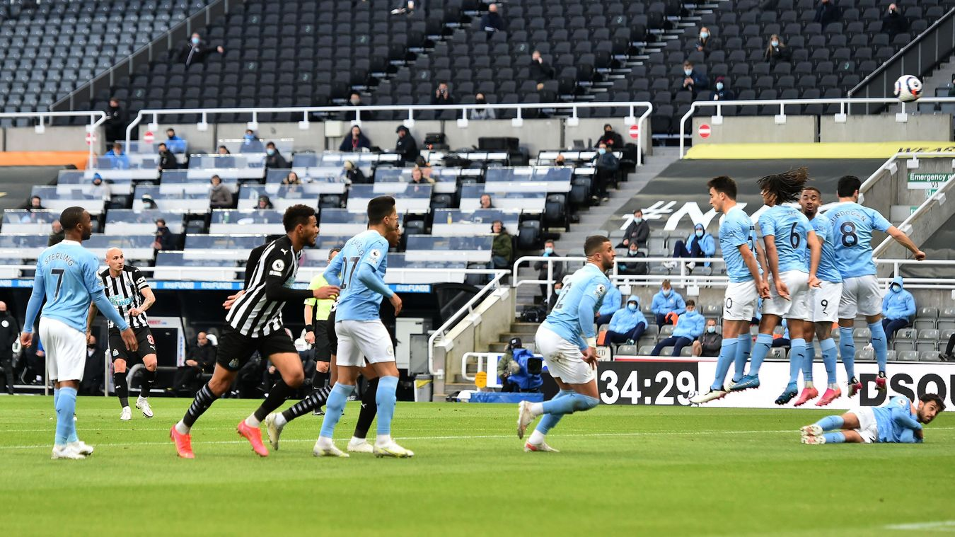 Newcastle United 3-4 Manchester City