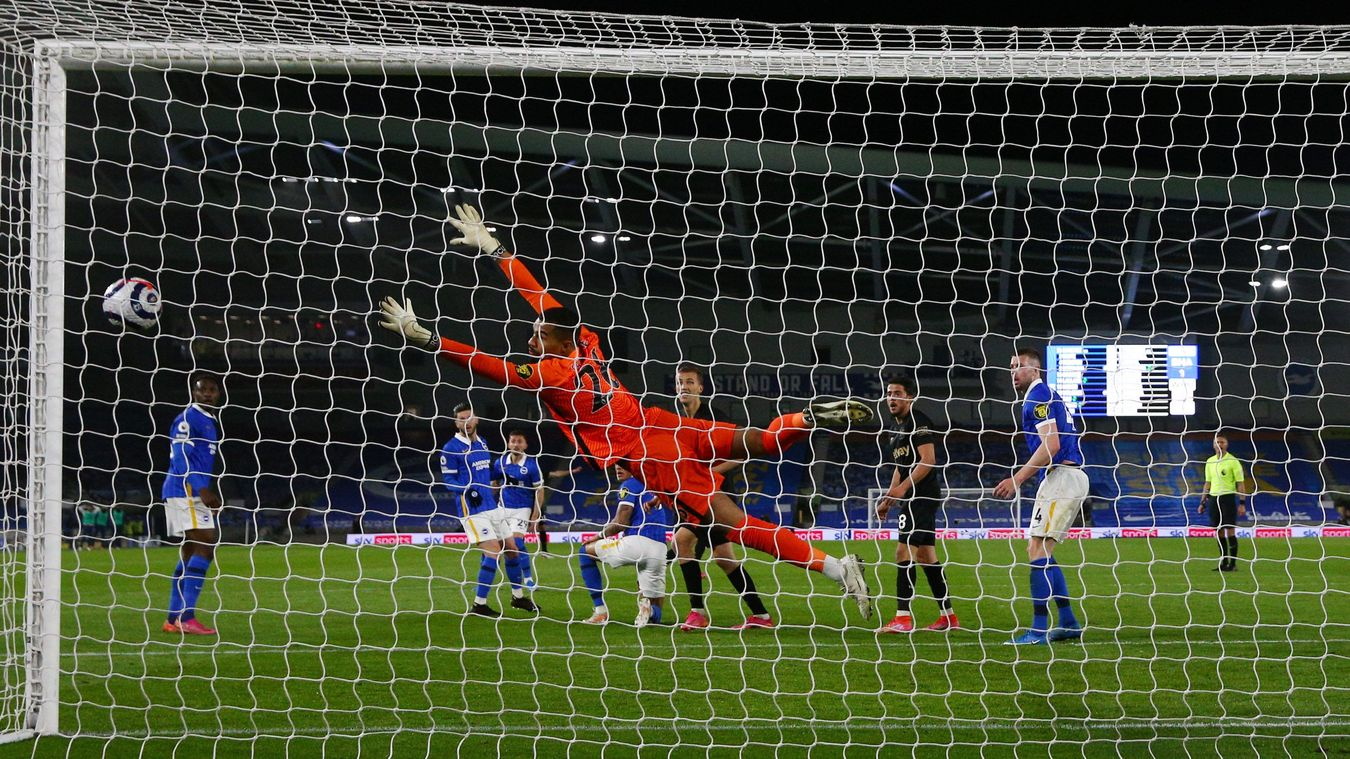 Brighton & Hove Albion 1-1 West Ham United
