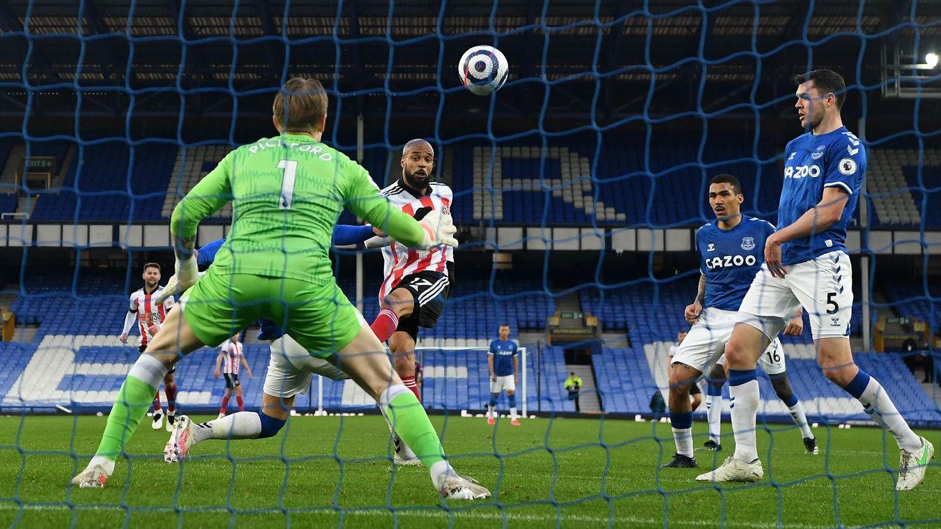 Everton 0-1 Sheffield United