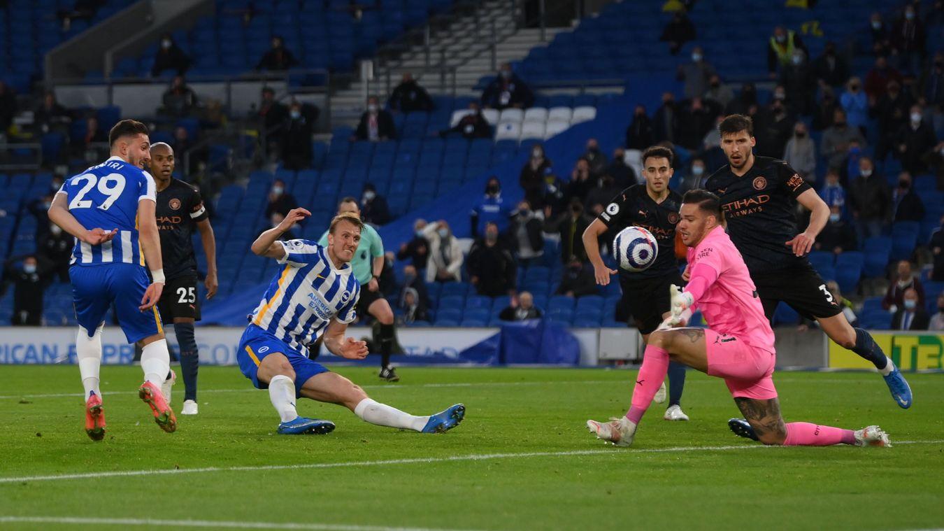 Brighton & Hove Albion 3-2 Manchester City