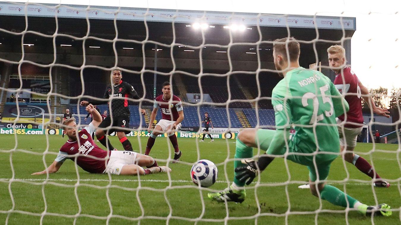 Burnley 0-3 Liverpool