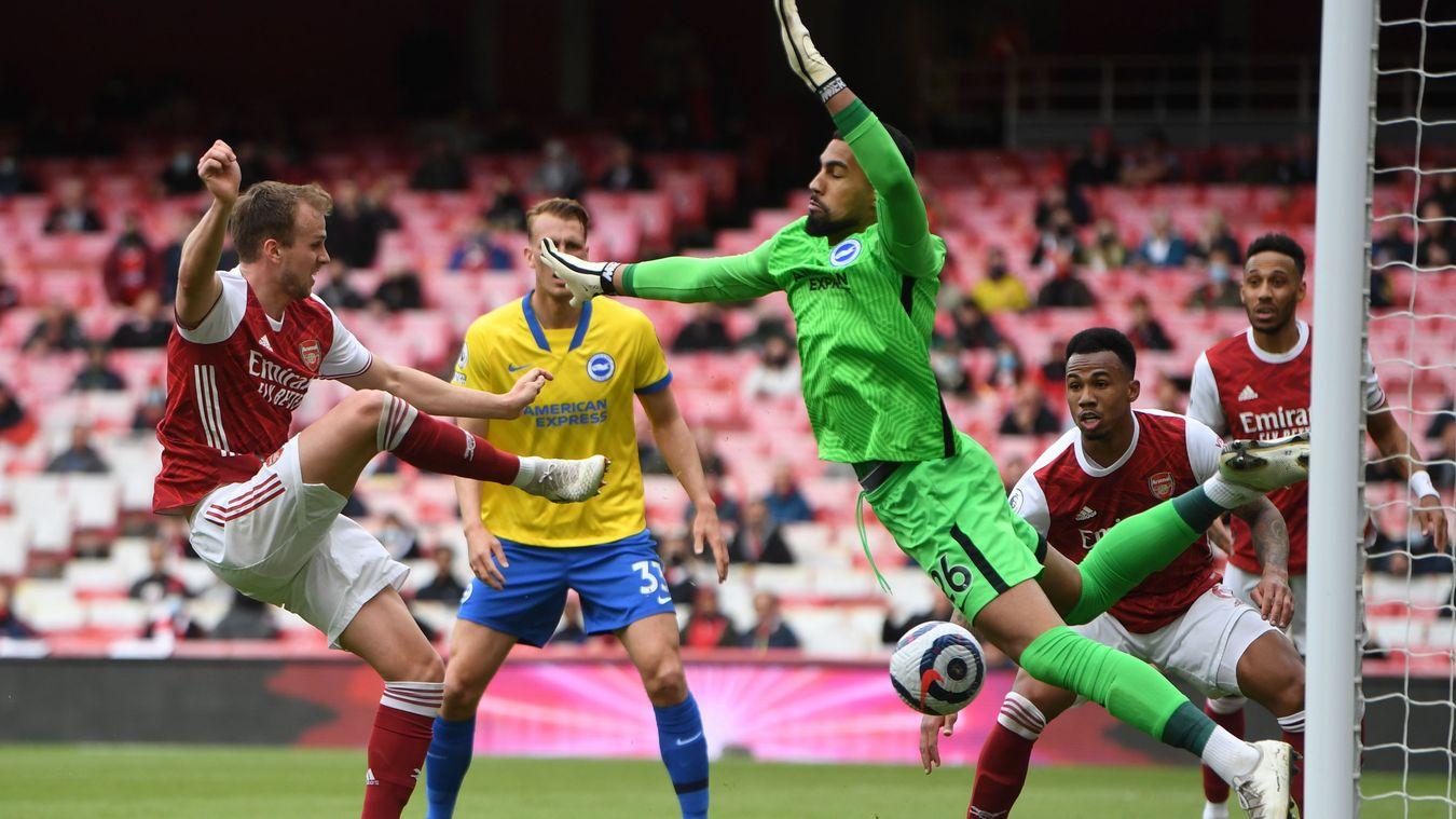 Arsenal 2-0 Brighton & Hove Albion