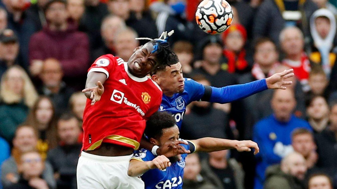 Manchester United 1-1 Everton