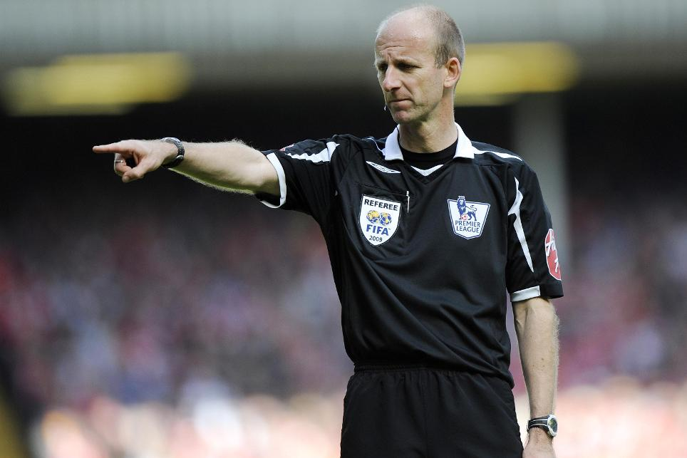 PGMOL General Manager Mike Riley in his refereeing days