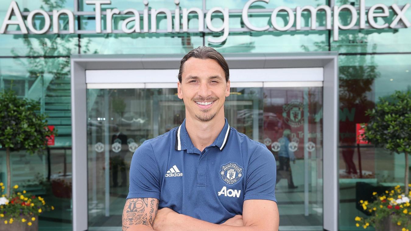 Zlatan Ibrahimovic (Manchester United)