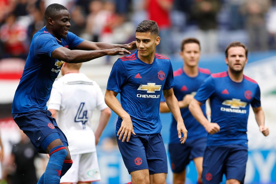 Wigan Athletic 0-2 Man Utd, 16 July