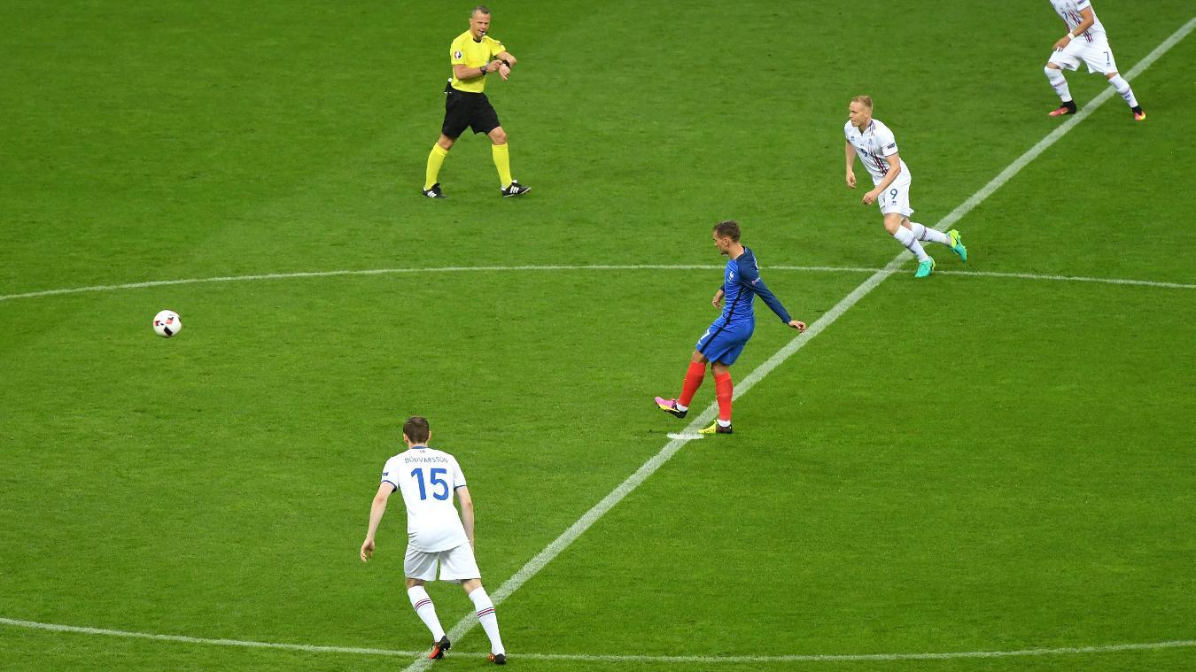 France v Iceland, UEFA Euro 2016