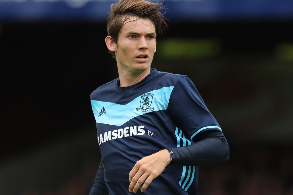 Middlesbrough midfielder Marten De Roon