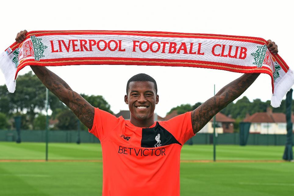 New Liverpool signing Georginio Wijnaldum
