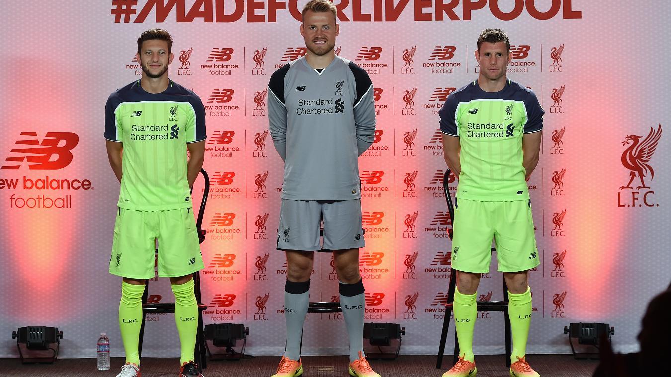 Liverpool's third kit