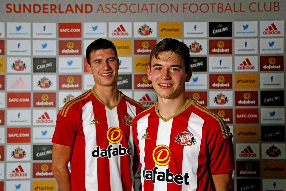 Paddy McNair and Donald Love (Sunderland)